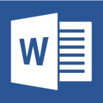 Microsoft Word icon link for downloading interview questionnaire