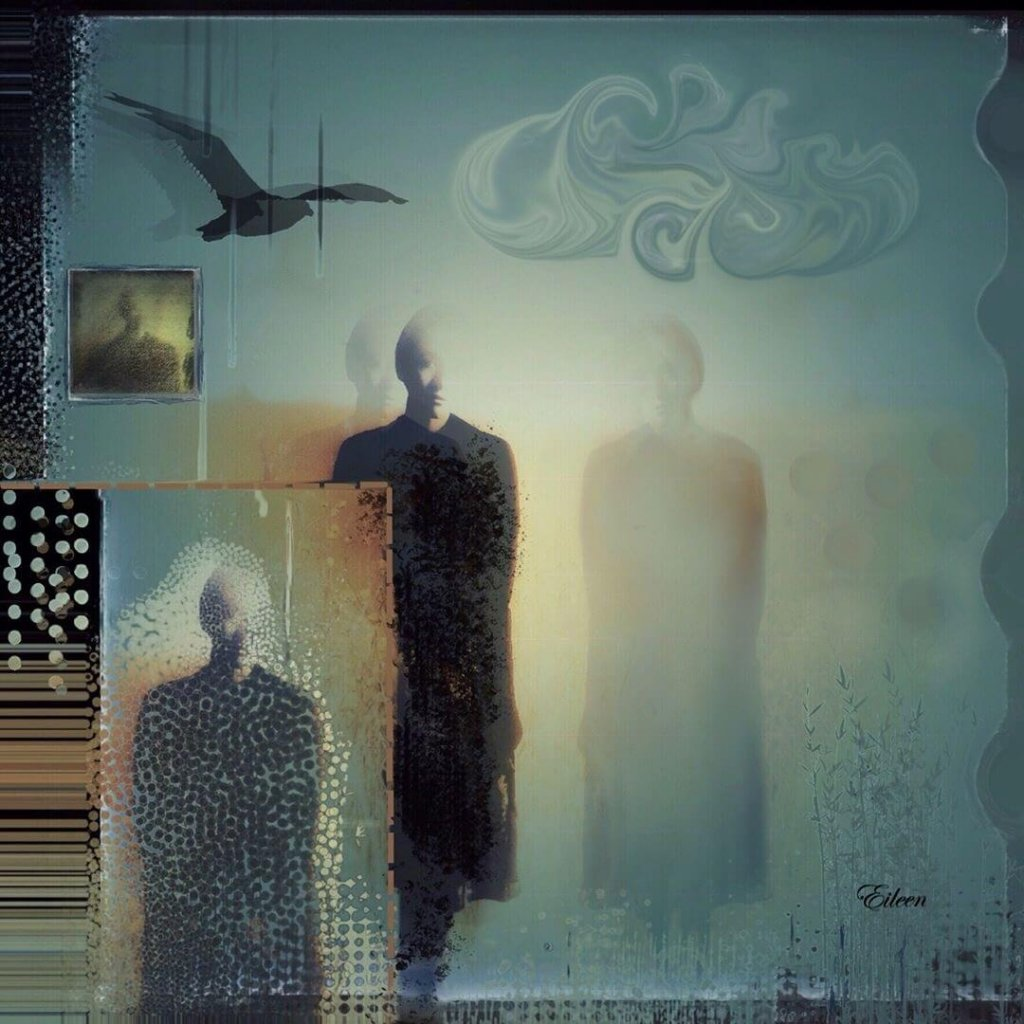 A surreal photo manipulation of ghostly figures by Eileen Tavormina