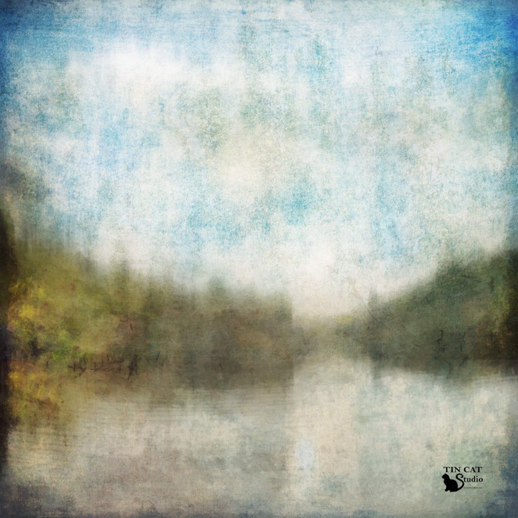 A textured landscape by Tin Cat Studio